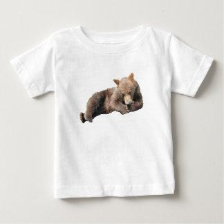 Cute Bear Cub relaxing Baby T-Shirt
