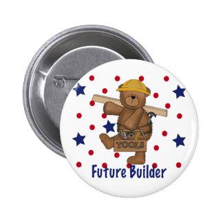Cute Bear Future Builder Pin