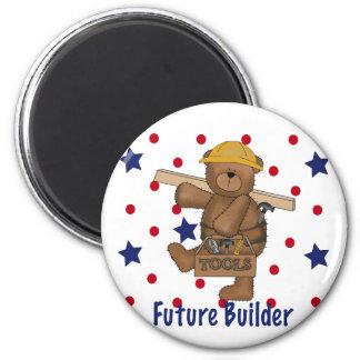 Cute Bear Future Builder Fridge Magnet