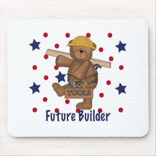 Cute Bear Future Builder Mousepad
