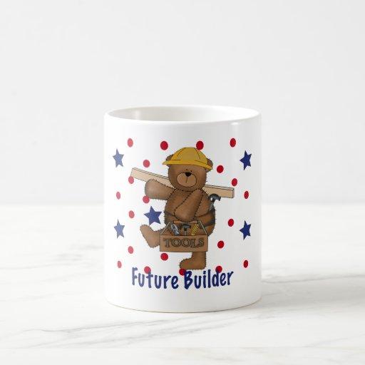 Cute Bear Future Builder Mugs
