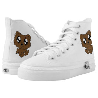 cute bear high tops