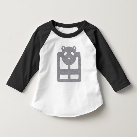 Cute bear kid's raglan tshirt HQH