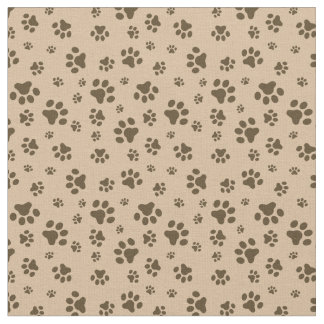 Cute bear paw pattern camper cabin material fabric