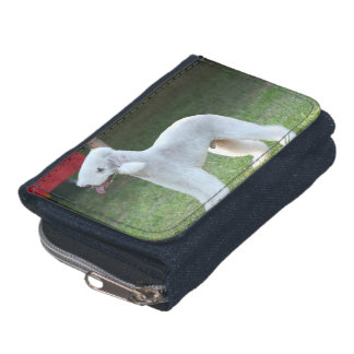 Cute Bedlington Terrier Wallets