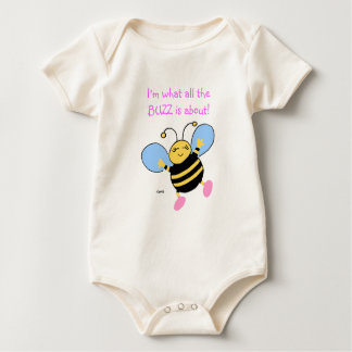 Cute Bee Baby Girls Clothing Baby Bodysuit