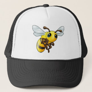 Cute Bee Character Trucker Hat