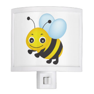 Cute bee design nite lite