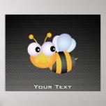 Cute Bee; Sleek Print