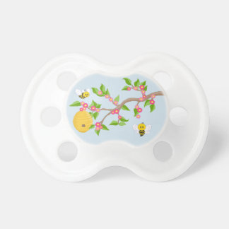 Cute Bees Baby Pacifier