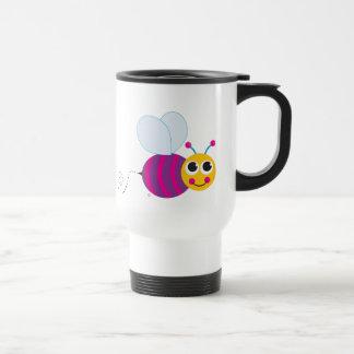 Cute Bees Travel Mug