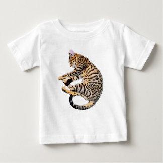 Cute bengal comic style baby T-Shirt