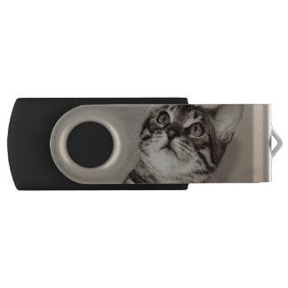 Cute Bengal Kitten Photo USB Flash Drive