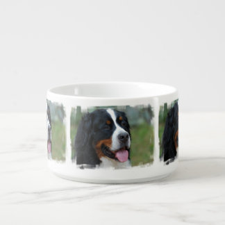 Cute Bernese Mountain Dog Bowl
