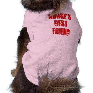 Cute Best Friend of Nurse Canine Pet Tee