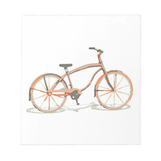 Cute bicycle notepad