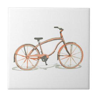 Cute bicycle tile
