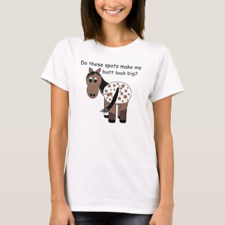 Cute Big Butt Appy Blanket Appaloosa Horse T-Shirt