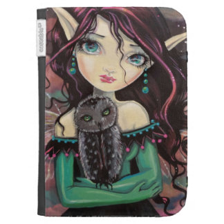 Cute Big-Eye Gothic Fairy and Owl Cases For The Kindle