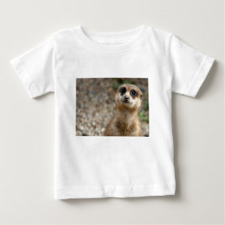 Cute Big-Eyed Meerkat Baby T-Shirt