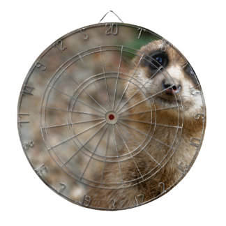 Cute Big-Eyed Meerkat Dartboard