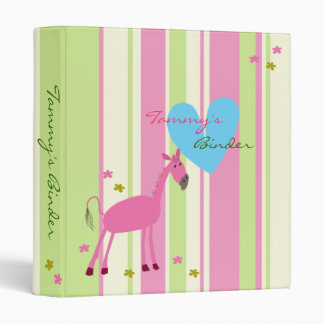 Cute Binder with Horse - TBA