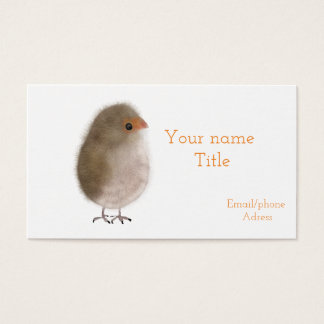 Cute bird bussiness card