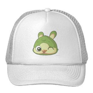 Cute bird cap funny cartoon character trucker hat