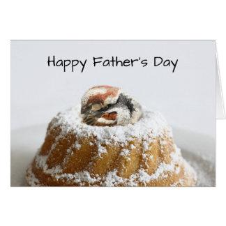 Cute bird Father's Day Card