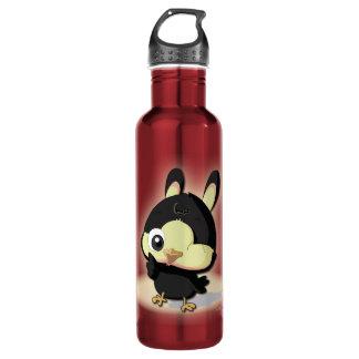 Cute Bird Funny Cartoon Character Kawaii Bottle 24oz Water Bottle