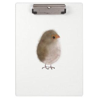 Cute bird illustration Clipboard by Gemma