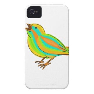 Cute bird iPhone 4 Case-Mate case