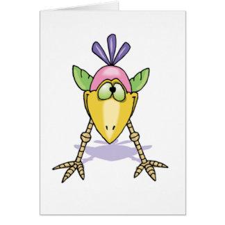 Cute Bird Note Card