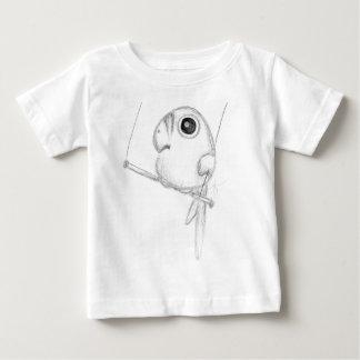 Cute Bird on Swing Baby T-Shirt