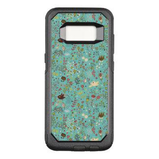 Cute Bird Pattern Five OtterBox Commuter Samsung Galaxy S8 Case