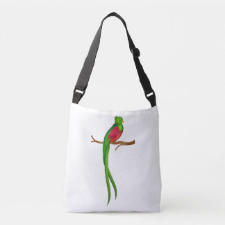 Cute bird Quetzal Crossbody Bag