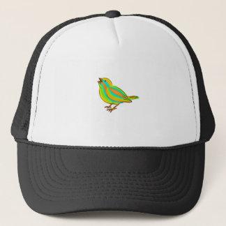 Cute bird trucker hat