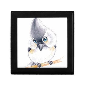 Cute birdie gift box