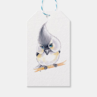 Cute birdie gift tags