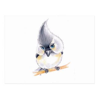 Cute birdie postcard