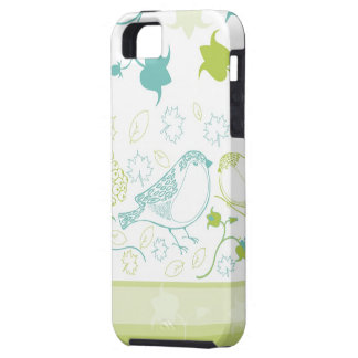 Cute Birds and Berries iPhone Case