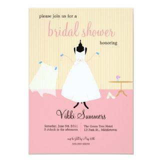 Cute Birds Bridal Shower Card