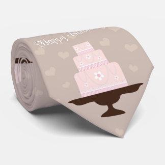 Cute birthday cake tie