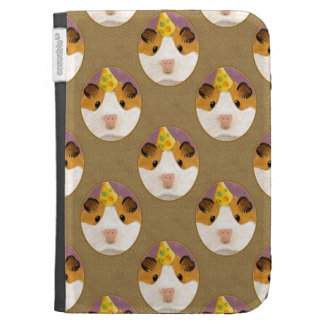 Cute Birthday Guinea Pig Pattern Cases For Kindle