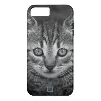 Cute black and white cat, iPhone 7 Plus Case
