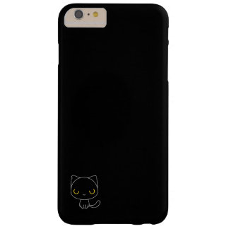 cute Black cat Barely There iPhone 6 Plus Case