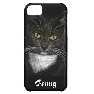 cute black cat iphone case cover customizable
