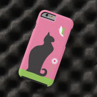 Cute Black Cat Tough iPhone 6 Case