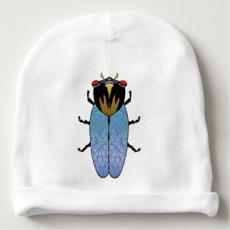 Cute Black Cicada Baby Beanie