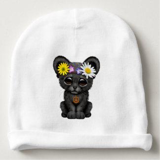 Cute Black Panther Cub Hippie Baby Beanie